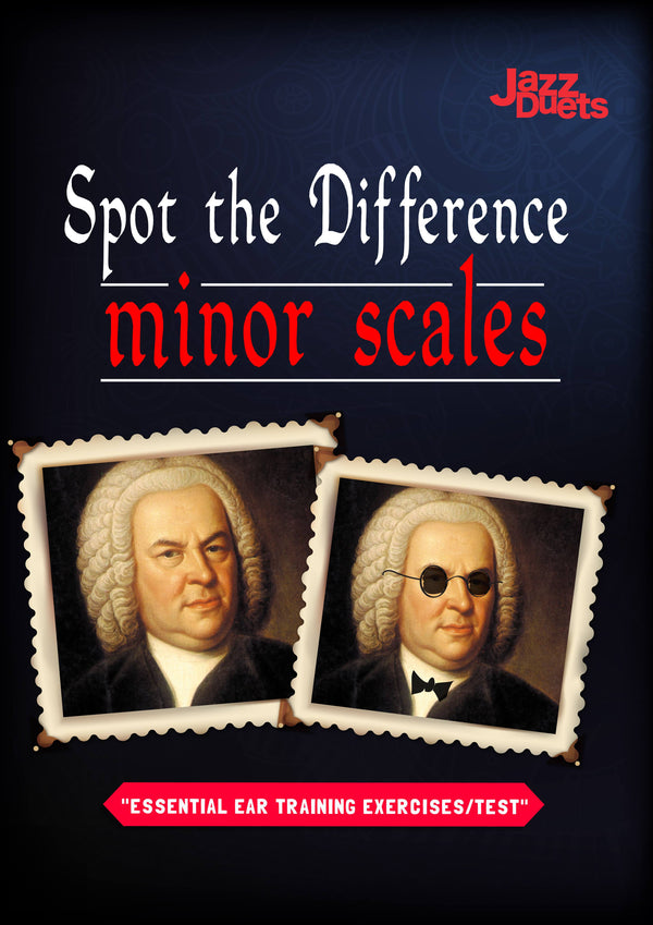 jazzduets- spot the difference eartraining-minor scales
