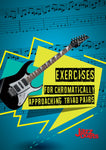 Introductory Guitar Exercises for chromatically approaching Triad pairs - digital PDF