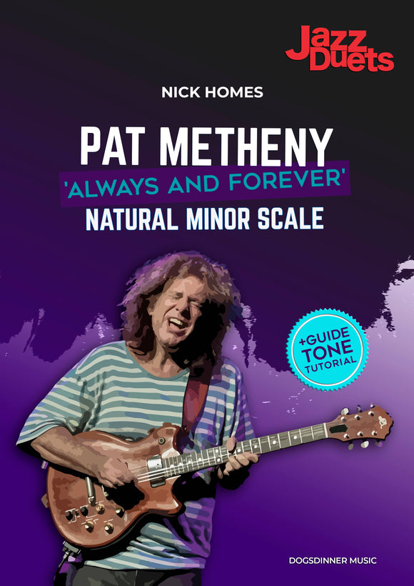 Pat Metheny - Jazz duets long tones- Always and Forever