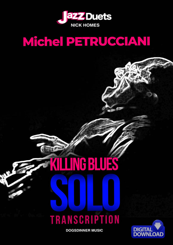 Michel Petrucciani Blues solo
