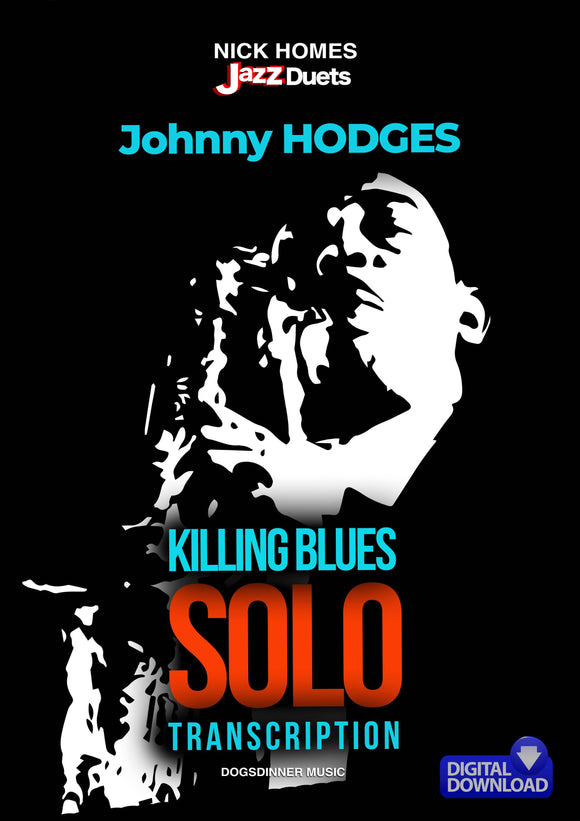 Johnny Hodges Killing Blues solo