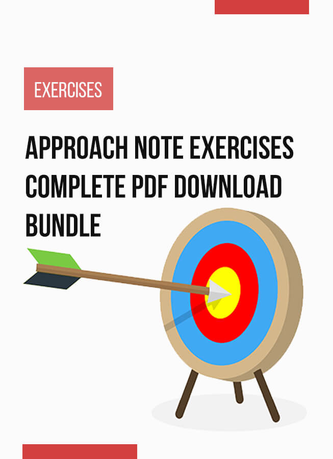 Approach Note Exercises complete bundle