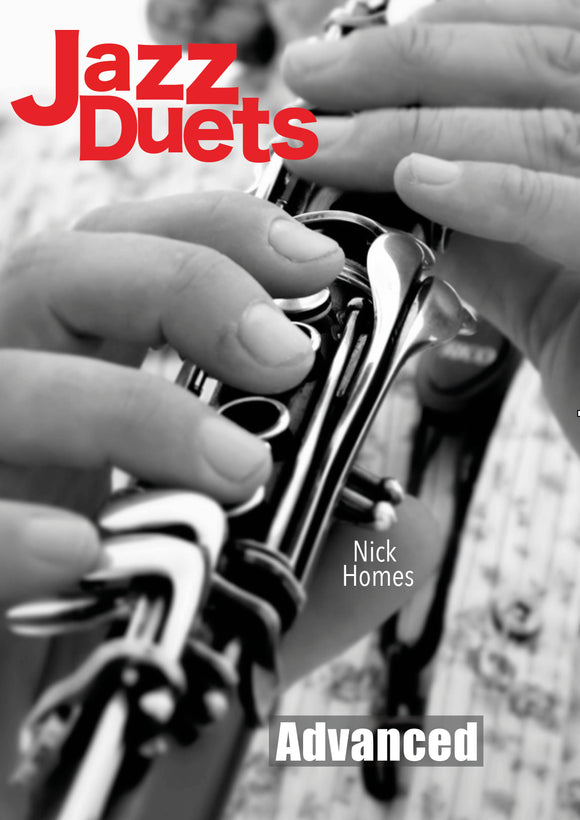 Advanced Clarinet Jazz Duets