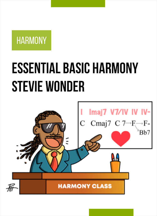 Essential Basic Harmony of Stevie Wonder- Analysis