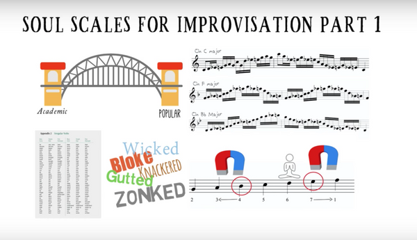 Soul Scale Exercises for improvisation - All Instruments
