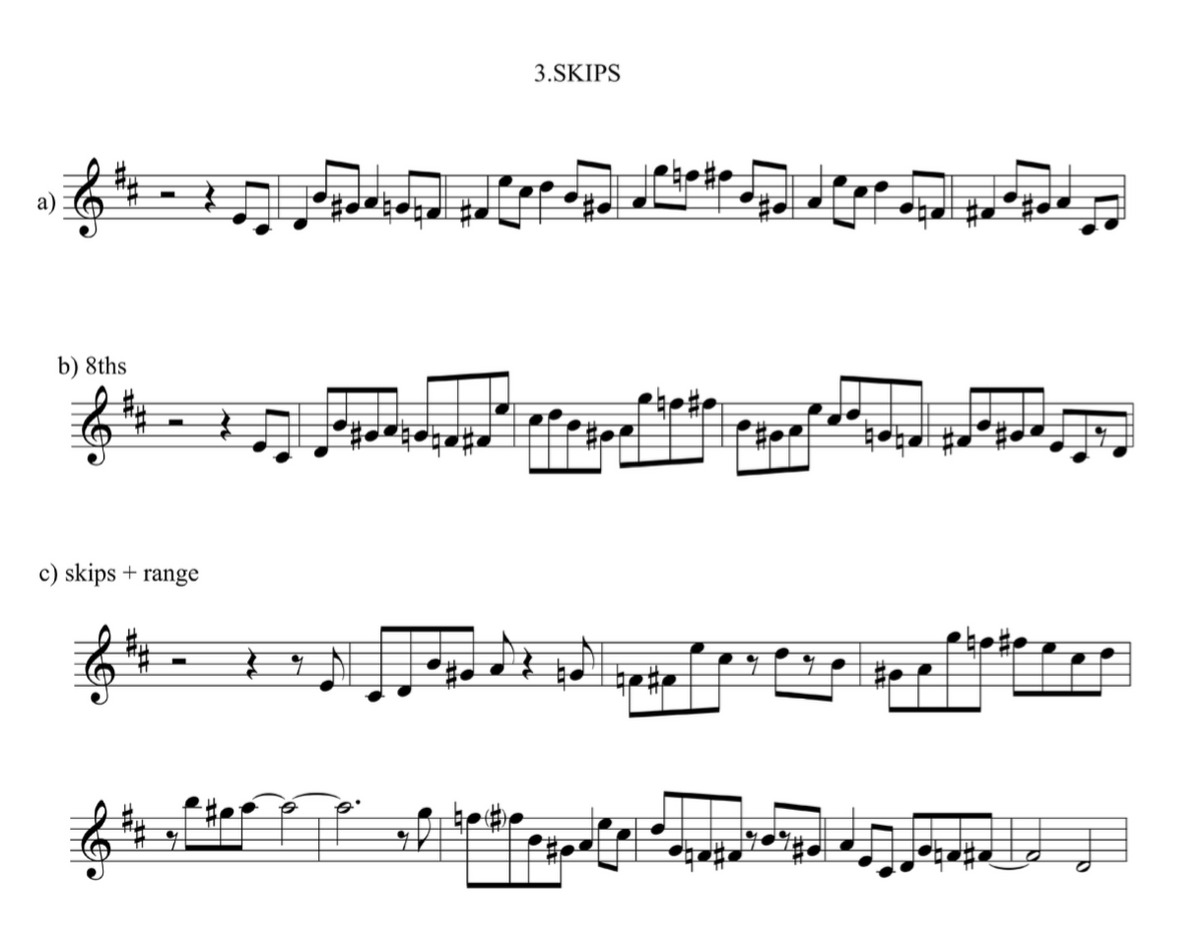 2 note Approach Notes exercises Jazz duets