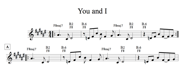 You + I Stevie Wonder Jazz Duets