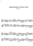 Introductory Triad Pair Approach note exercises- all instruments