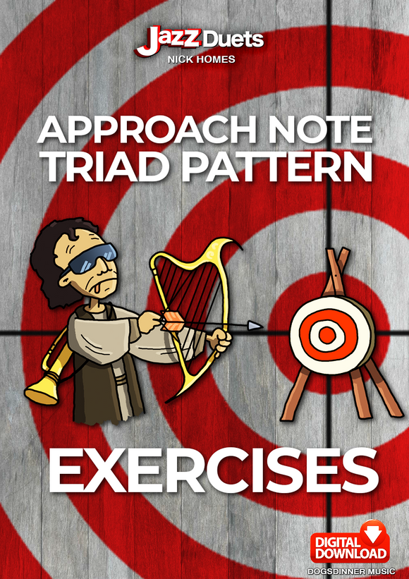 Approach note Triad Pattern Exercises-Digital Pdf