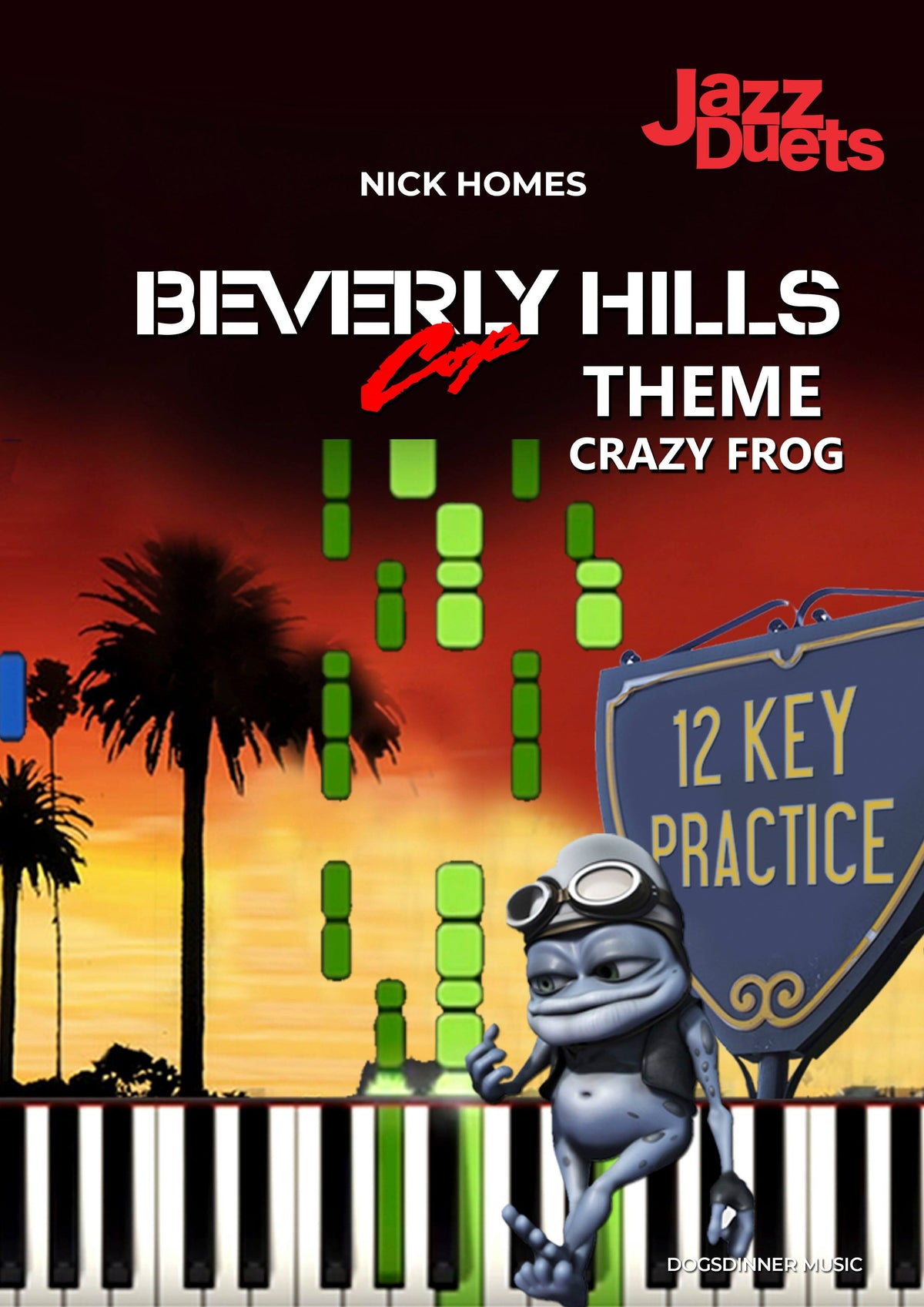 Beverly Hills Cop Theme/Crazy Frog  x 12 keys + analysis