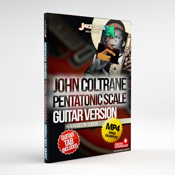 Coltrane Pentatonic Guitar package  digital download with TAB