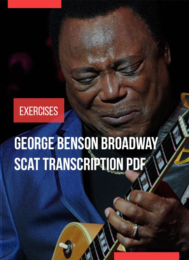 George Benson Broadway Solo Guitar Jazz analysis