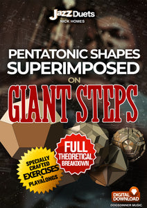 My shred practice on giant steps - free extract from book for limited time!