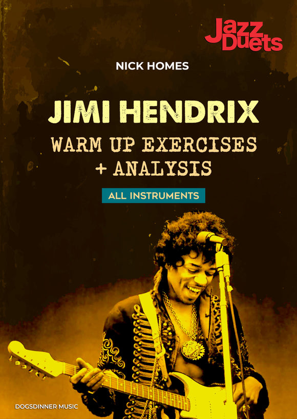 Jimi Hendrix - warm up exercises- Jazzduets