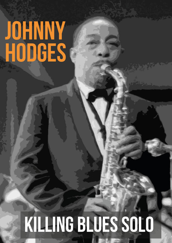 Johnny Hodges Blues solo
