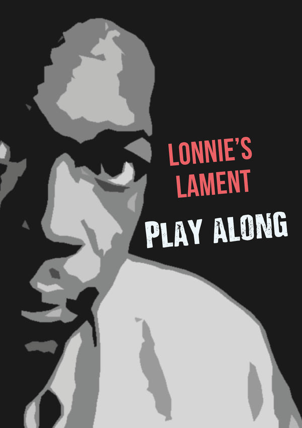 Lonnie's Lament - play along -jazzduets