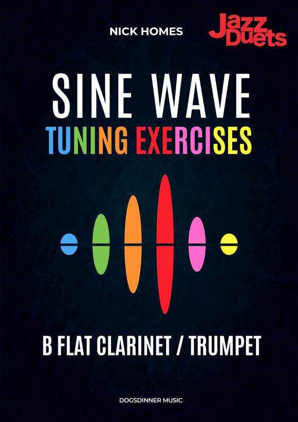 Sine wave tuning exercises Bb - Jazzduets