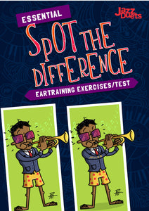 Spot the difference Ear training package- PDF+MP3