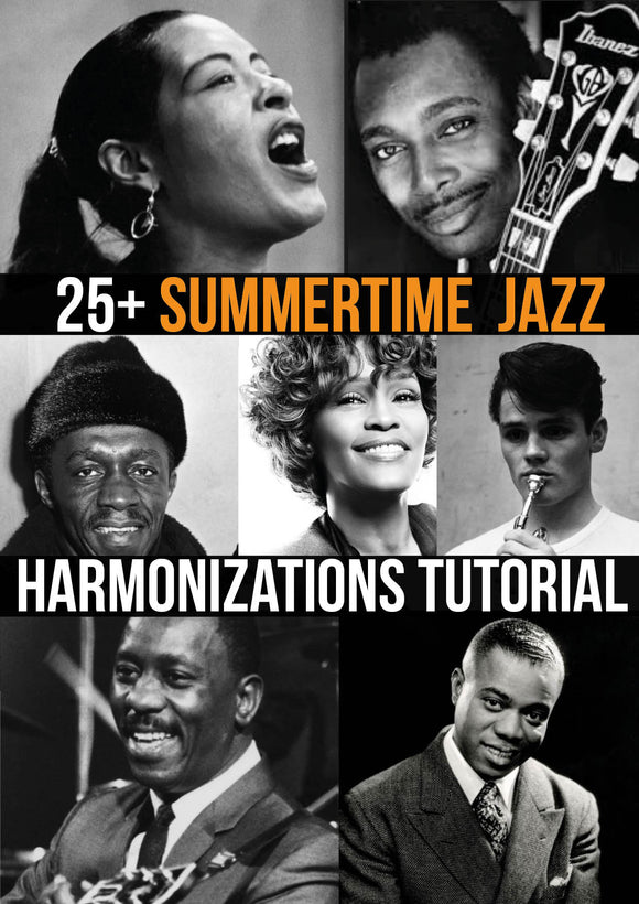 Summertime Jazz Reharmonisations- Jazz duets