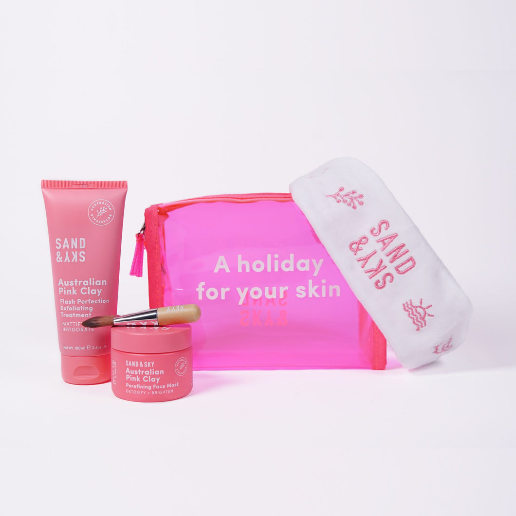SAND & SKY AUSTRALIAN PINK CLAY - PERFECT SKIN COMBO