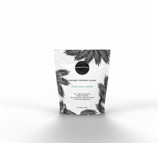 Organic Coconut Sugar | Organic Vegan  | Unrefined  | Non-GNO | Chemical Free  | 500g