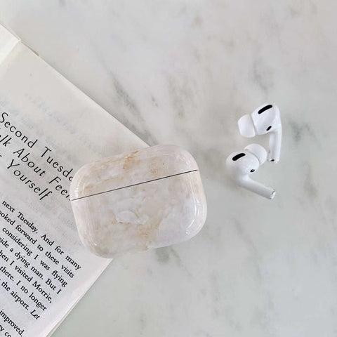 Gold Marble AirPods Pro