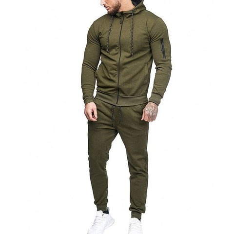 Army Green 2Pc Tracksuit