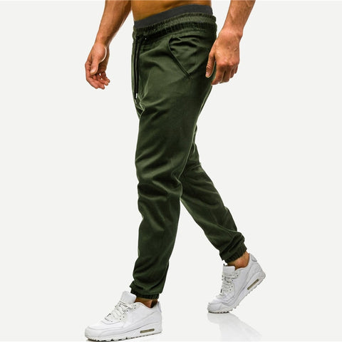 Army Green Jogger Sweatpants