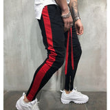 Black & Red Track pants
