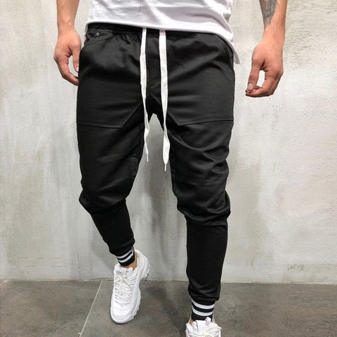 Black Jogger Sweat Pants