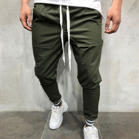 Army Green Jogger Track Pants