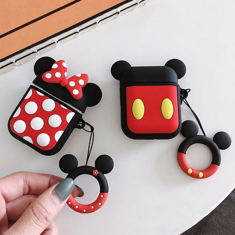Minnie & Mickey AirPods Case