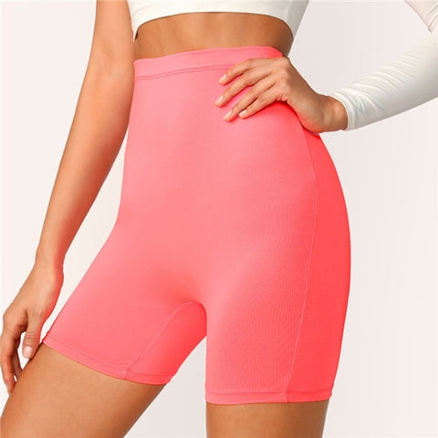 Pink High Waist Leggings