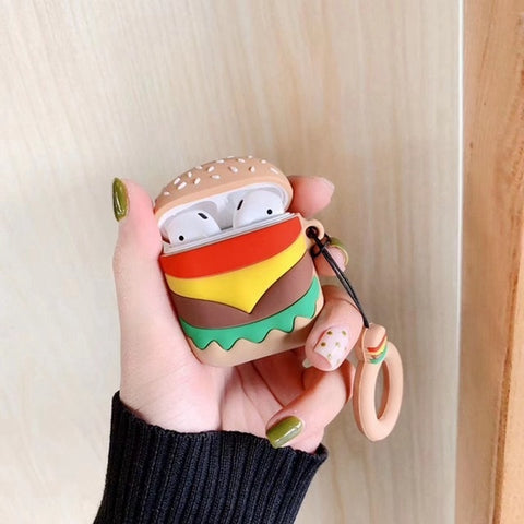 Big Burger AirPods Case