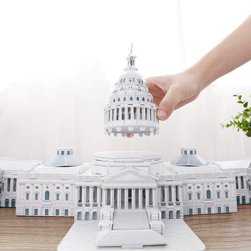 The Capital Hill Washington US 3D puzzle Model Kits - Jubilofun