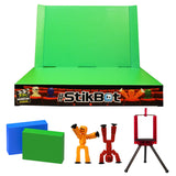 Stikbot Studio with green background