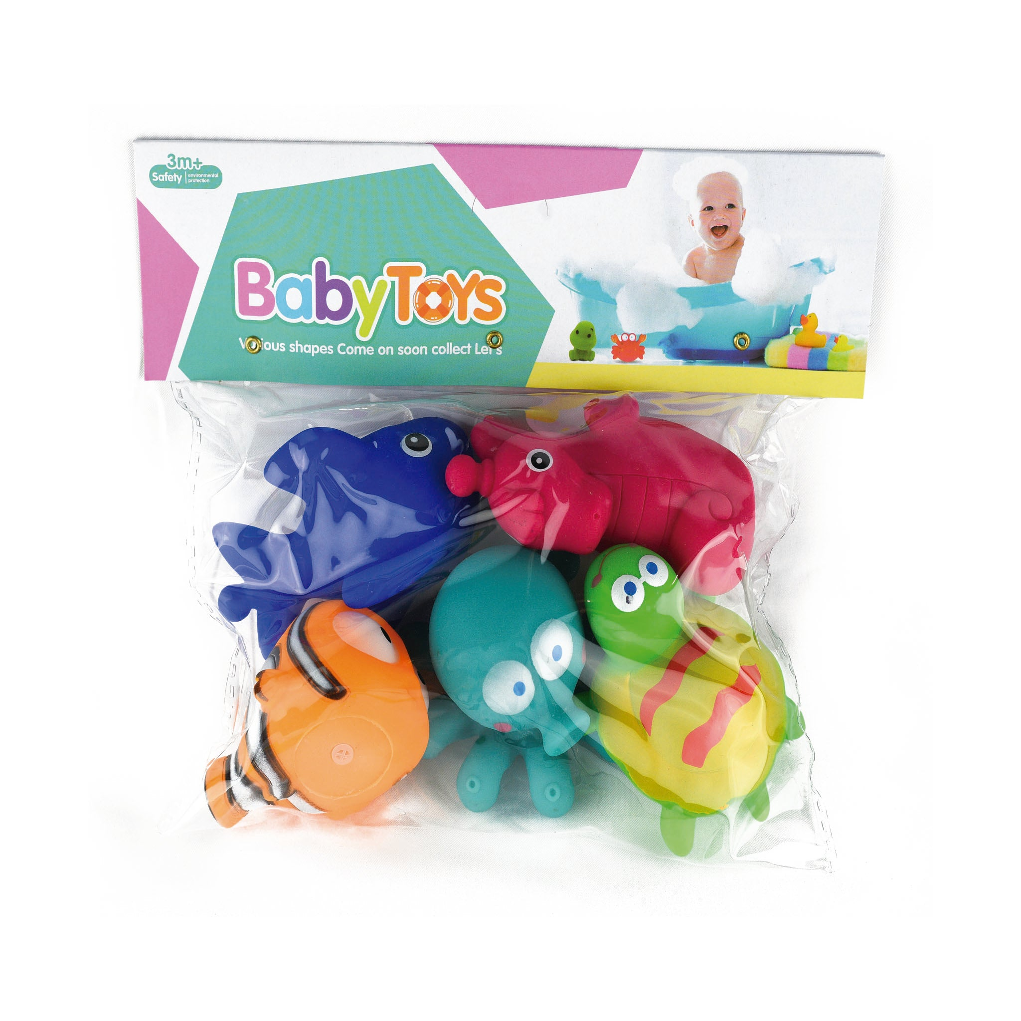 Baby bath toys 5 in 1 - Jubilofun
