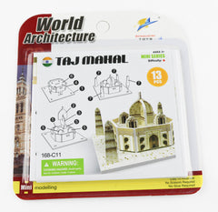 MINI WORLD WONDERS 3D PUZZLE - Jubilofun