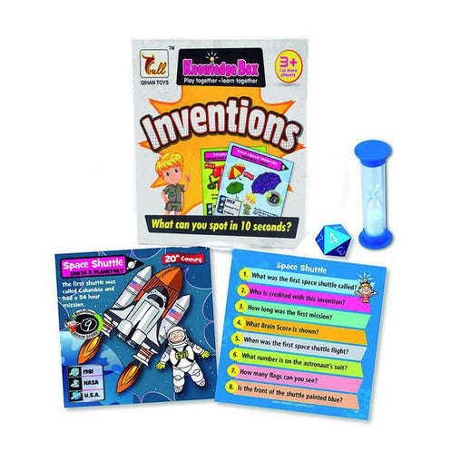 Knowledge box for kids Inventions Card Game - Jubilofun