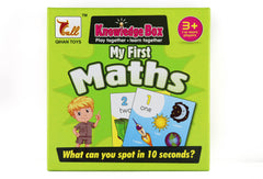Learn Math For Kids Card Game - Jubilofun