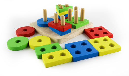Montessori toys blocks - Jubilofun