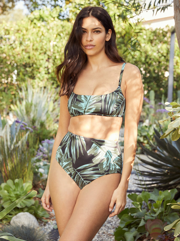 High Rise Spring Bud Bottoms - Spring Bud / XS - Swimwear