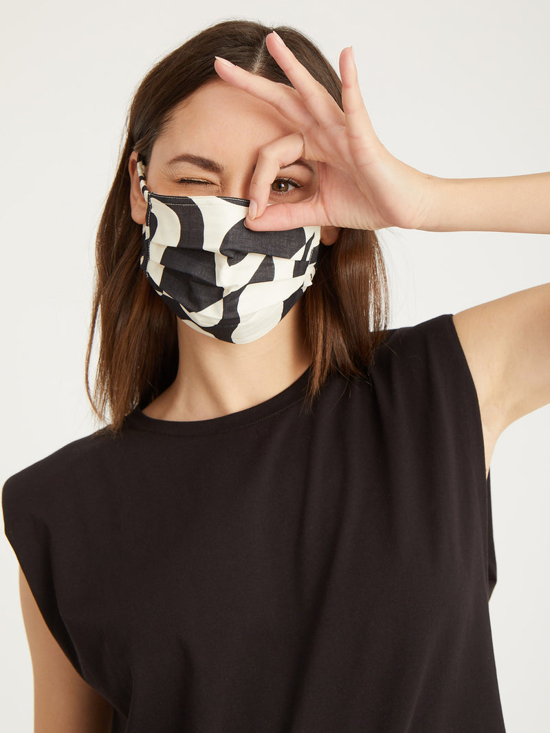 Modern Art Scrunchie Mask 4 Pack