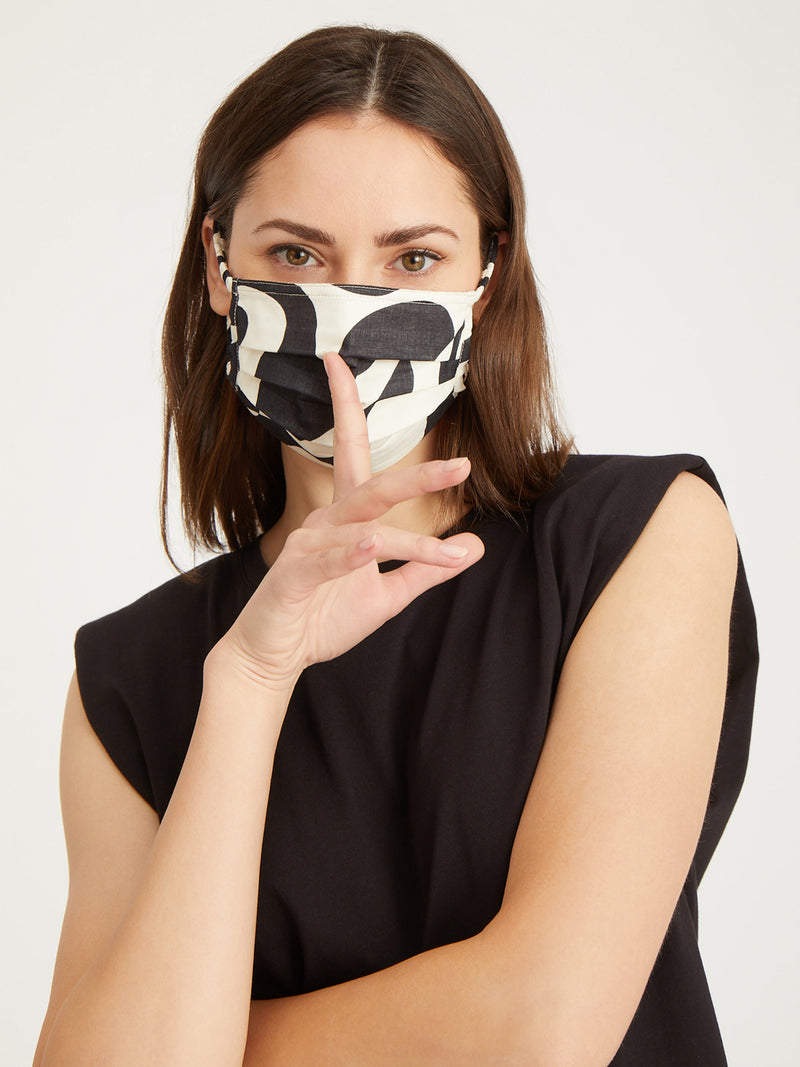 Modern Art Scrunchie Mask 4 Pack - Assorted 4 Pack / O/S -
