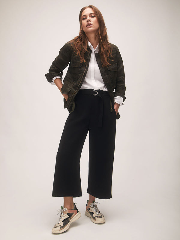 East Street Black Culottes