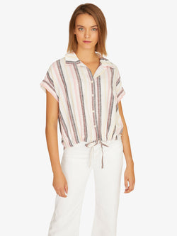 Borrego Tie Shirt Sunset Stripe