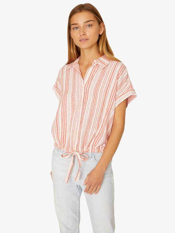 Borrego Tie Shirt Eternal Sun Stripe
