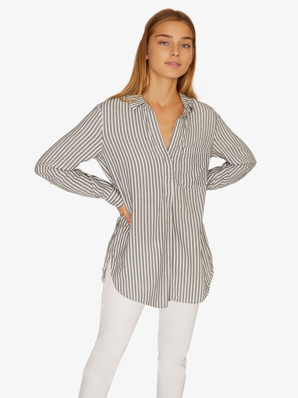 Miles Tunic Timeless Stripe