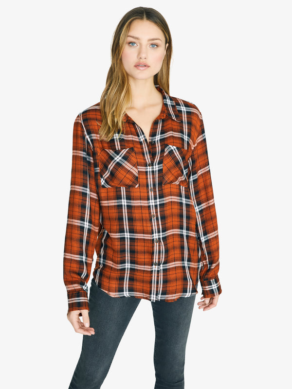 New Generation Boyfriend Shirt New Perspective Plaid