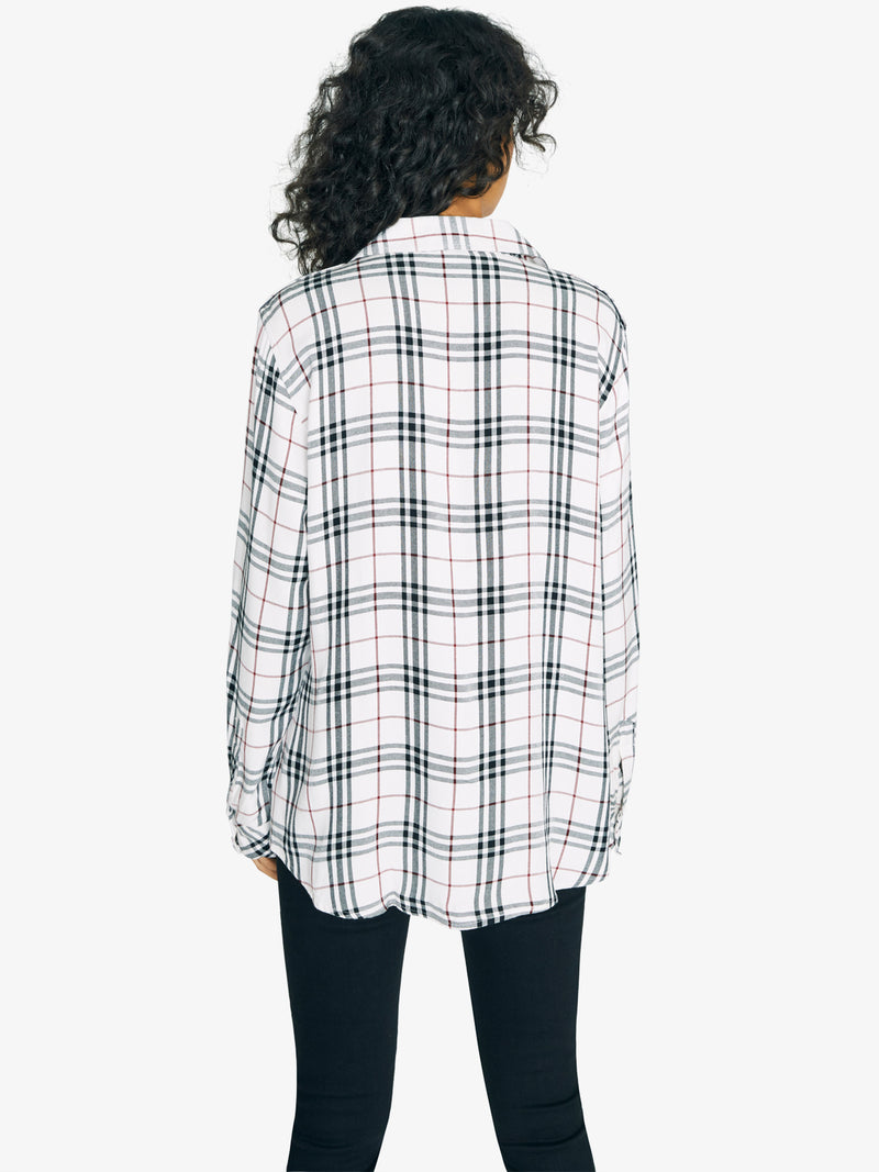New Generation Boyfriend Shirt Relevant Plaid